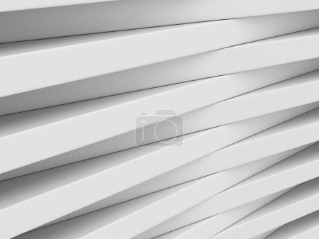 Abstract White Blocks Design Background