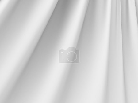 White Abstract Silk Cloth Background