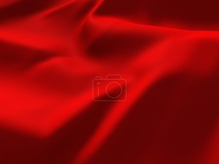 Fond de soie rouge abstrait