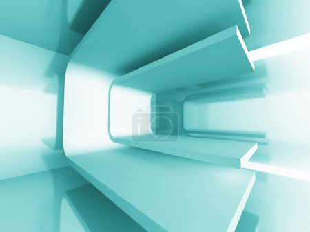 Abstract Futuristic Architecture Background