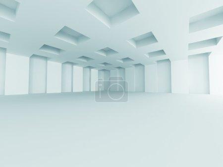 Modern Empty Room Interior Background