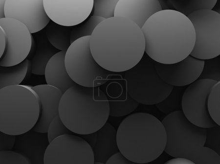 Abstract Round Pattern Wall