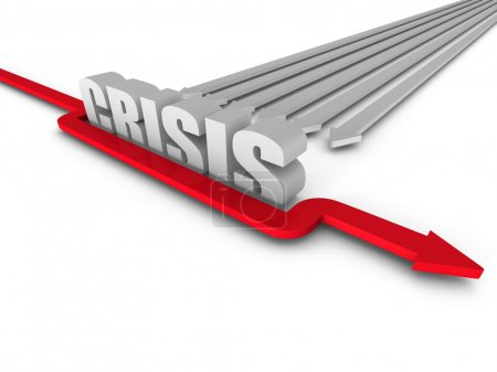 Red Arrow Overcoming CRISIS