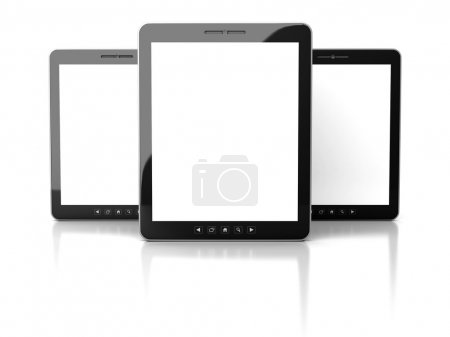 Tablet PC With Blank Screens