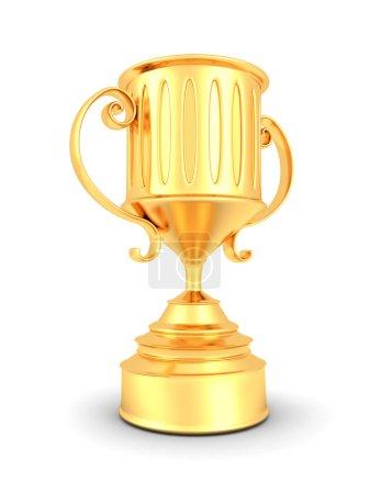 Golden Trophy Winner Cup