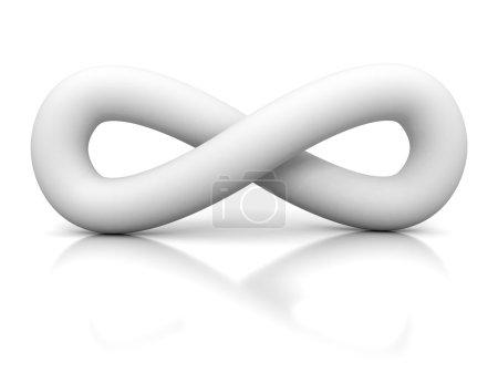 White Soft Infinity Symbol Icon
