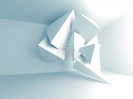 Abstract Pyramid Design Architecture Background