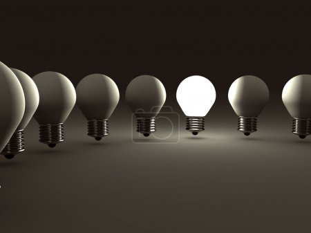 Concept Idea Light Bulb