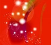 červené elegantní fantazie pozadí
