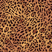 Safari leopard fur seamless print