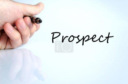 Prospect text concept
