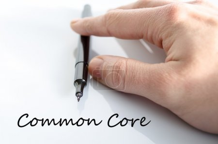 Common core text concept