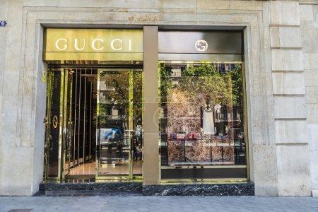 Gucci shop Barcelona