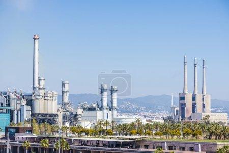 Incinerator plant in Barcelona