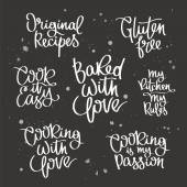 Set quotes about cooking