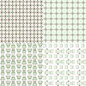abstract patterns with squares circles