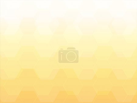 Illustration for Light yellow polygon abstract background - Royalty Free Image