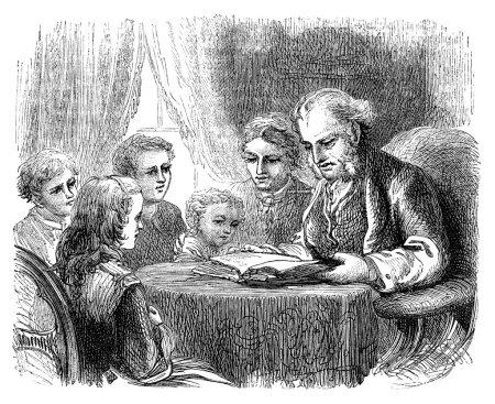 Parents Reading To Children