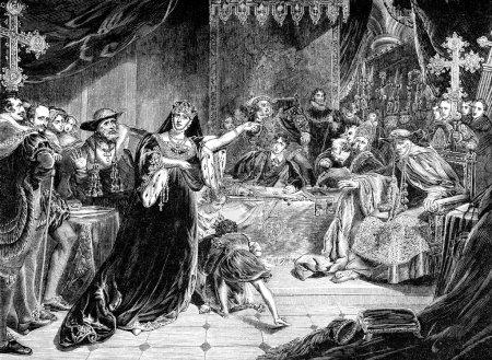 Trial Of Queen Catherine Of Aragon