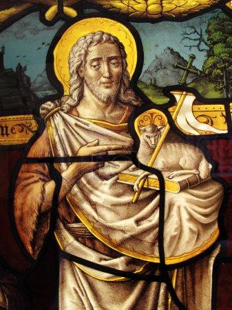 Jesus Christ, Stained Glass Window