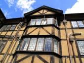 """Постер, картина, фотообои """"Средневековый дом, Оксфорд"""""""