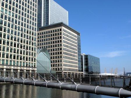 Canary Wharf Footbridge