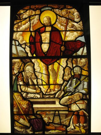 The Resurrection, Stained Glass Window