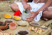 Preparing Ayurvedic Medicine
