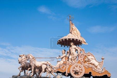A Statue of Krishna