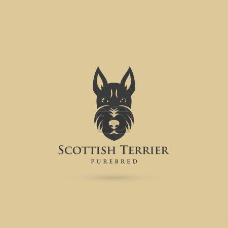 Scottish terrier symbol