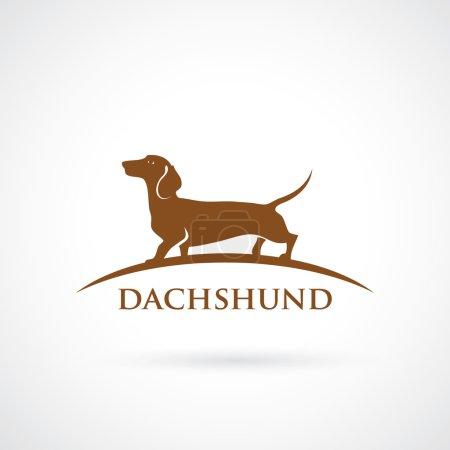Dachshund dog symbol