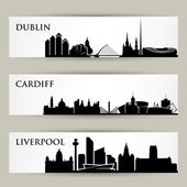 United Kingdom city skylines