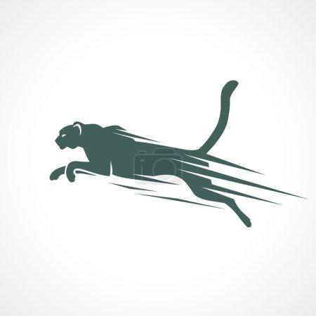 Cheetah animal symbol