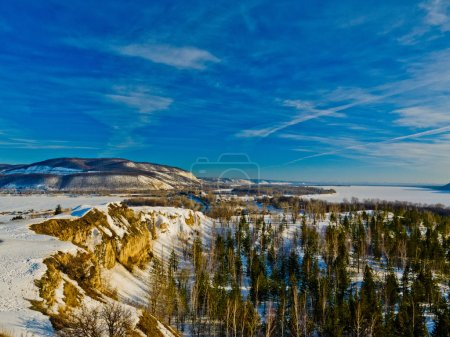 Landscape of the Middle Volga Russia