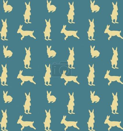 Many rabbits