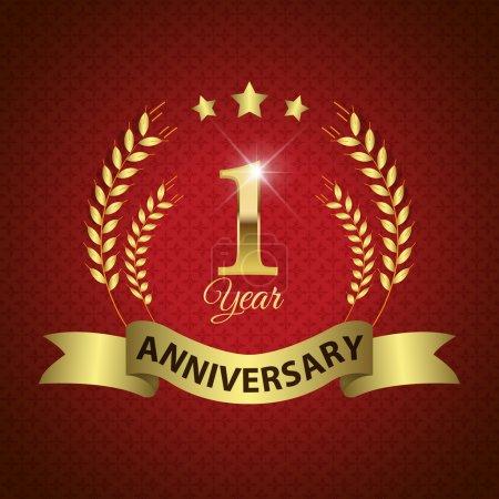 1 Year Anniversary Seal