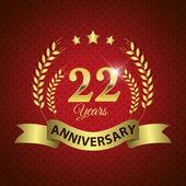 22 Years Anniversary Seal