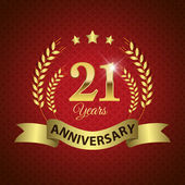21 Years Anniversary Seal