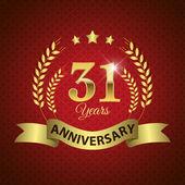 31 Years Anniversary Seal