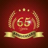 65 Years Anniversary Seal