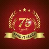 75 Years Anniversary Seal