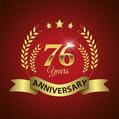 76 Years Anniversary Seal