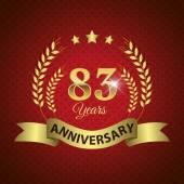 83 Years Anniversary Seal