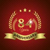 84 Years Anniversary Seal