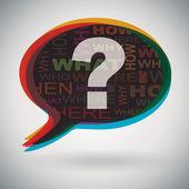 Speech bubble - Question Mark