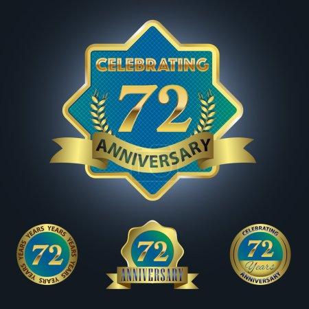Celebrating 72 Years Anniversary
