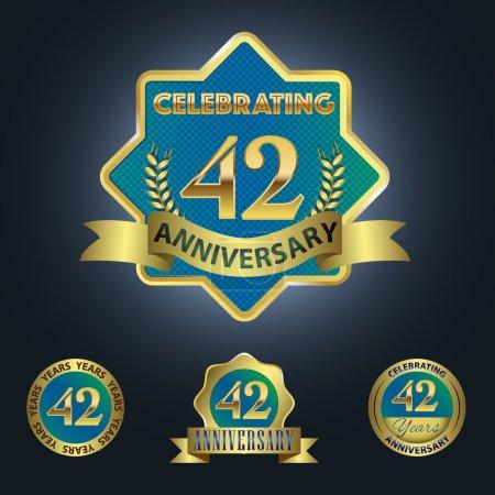 Celebrating 42 Years Anniversary