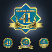 Celebrating 41 Years Anniversary