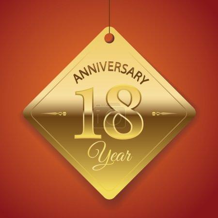 18 Years Anniversary poster