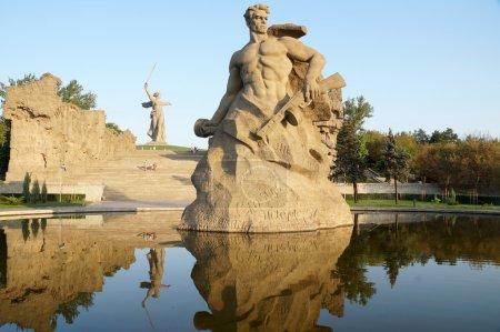 "Denkmal ""Rückschritt"" auf Mamajew-Kurgan"